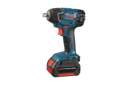 Bosch 24618 01 18V Impact Wrench with Fat Pack Batteries