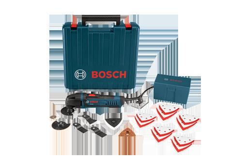 Bosch MX25EK 33 Multi X Oscillating Tool Kit