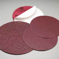 Carborundum Premier Red Coarse PSA 8 Inch Discs
