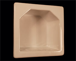 Recessed Soap Dishes in a Variety of Colors