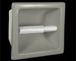 Recessed Tissue Holders in a Variety of Colors