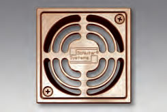 Kerdi Shower Drain Brushed Copper / Bronze