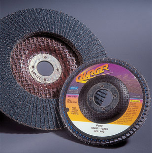 "Norton Charger R8222 4"" x 5/8"" Flap Discs"