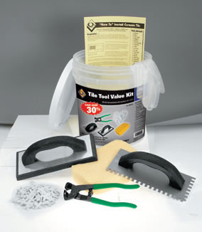 QEP 78204HD Complete Ceramic Floor Tile Installation Tool Kit