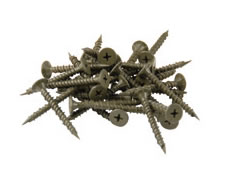 "QEP 99602 1-1/4"" - #8 Hi Lo Cement Board Screws"