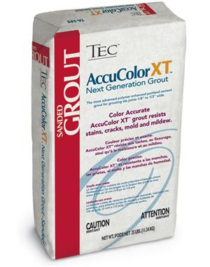 AccuColor Premium Sanded Grout